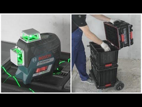 Обзор нового лазерного уровня и лучшая система хранения инструмента. photo
