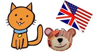 Nomes dos animais de estimação em inglês para crianças