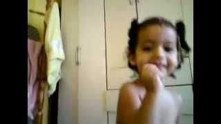 Yasmim cantando Luan Santana - tô de cara