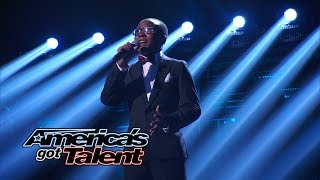 "Quintavious Johnson: Young Singer Covers The Beatles' ""Let It Be"" - America's Got Talent 2014 Finale"