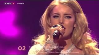 Dansk Melodi Grand Prix 2016 - Simone - Heart Shaped Hole - DR1
