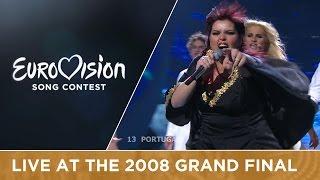 Vânia Fernandes - Senhora Do Mar (Negras Águas) (Portugal) Live 2008 Eurovision Song Contest