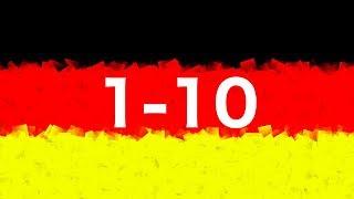 Los números del 1 al 10 en alemán - AprendeAleman.com