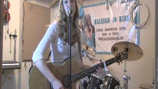 "Blake Shelton ""Sure Be Cool If You Did"" cover & lyric video by Kaleigh Jo Kirk"
