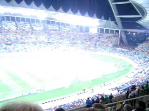 Spain VS Germany, Semi Final, July 7, 2010, FIFA World Cup in Durban in South Africa