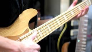 【TAB】ベースワンフレーズ集『Run For Cover』Marcus Miller  【Bass One  Phrase】