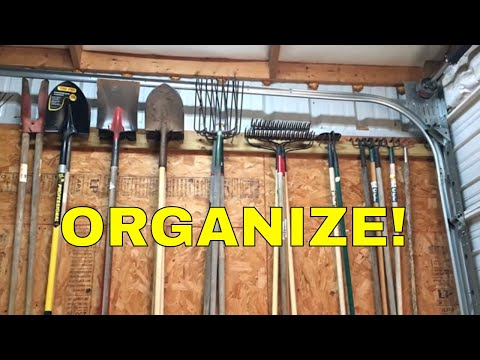 ORGANIZE YOUR GARAGE OR SHOP ~ WITH SCRAP!