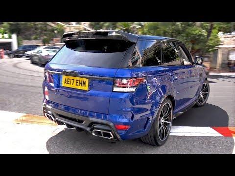 Land Rover Range Rover Overfinch GT SVR – LOUD REVS!