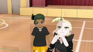 【Pokémon MMD】 Gladion Unleashes His Anger Unto Hau