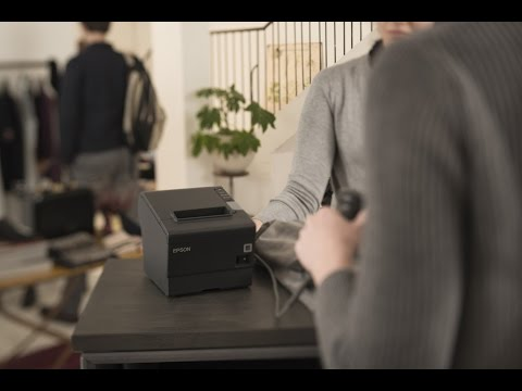 Setting Up & Enabling DHCP on the Epson TM-T88V for a Windows PC | HWVE100.006