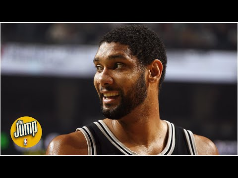 Tim Duncan joins The Jump ahead of #20HoopClass Enshrinement Ceremony | The Jump