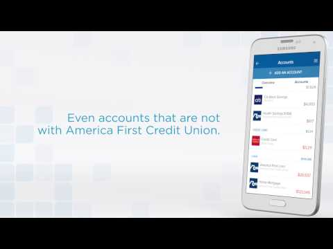 America First Mobile Banking - Adding accounts