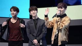 170527 idolCON - PENTAGON HONGSEOK 강민주 삼행시 / 펜타곤 홍석 직캠
