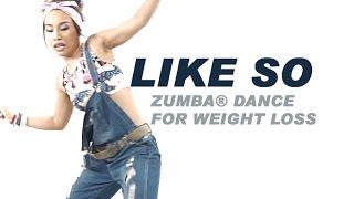 Like So | Angela Hunte & Machel Montano ft. Gregor Salto & DJ Buddha | Zumba® Dance For Weight loss