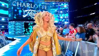 Charlotte flair entrance Smackdown: July 31, 2018