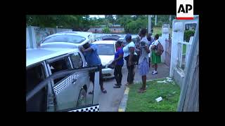 Soldiers search resident in Jamaica as curfew is imposed