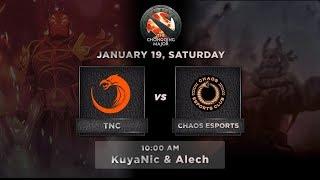 TNC Predator vs Chaos Esports Club Game 1 (BO3) The Chongqing Major GroupStage