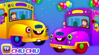 Wheels on the Bus (PART 2)  - Popular Nursery Rhymes and Songs for Children