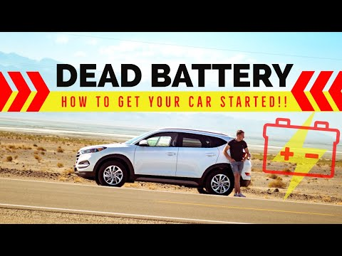 What to do if your Car Battery is Flat? (3 Ways to Start your car)