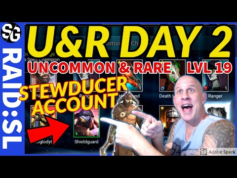RAID SHADOW LEGENDS | UNCOMMON/RARE DAY TWO | THE PLAN
