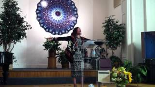 Inspirational song, sang by Sister Natalie Albalos
