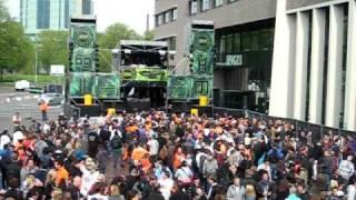 Acid Up Dub LIVE @ Zodiak Commune - Queensday Festival 2010 [30-04-2010, Kennedyplein, Eindhoven]