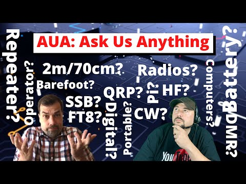 AUA - Ask Us Anything!