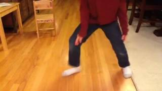 Aiden Michael Jackson dance moves / feet