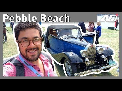 Aquí se subastan los autos más caros del mundo! - Pebble Beach 2018