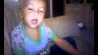 """This City is yours""-Elevation Worship (cutest kid contest) Jayden singing"