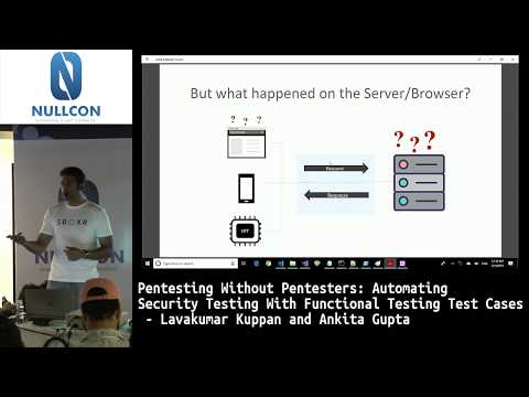 Automating Security Testing with Functional Testing Test Cases | Lavakumar Kuppan
