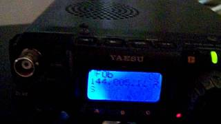 WE9XUP 4m beacon received at CT1HZE on June 20 2011 at 1045z