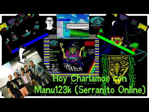 Hoy Charlamos con Manu128k (Serranito Online)