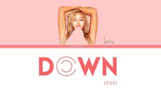 Jessi(제시) _ Down [Color Coded Lyrics Han|Rom|Eng]