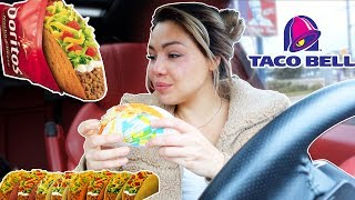 TACO BELL MUKBANG WITH MY BOYFRIEND (EMOTIONAL) 먹방