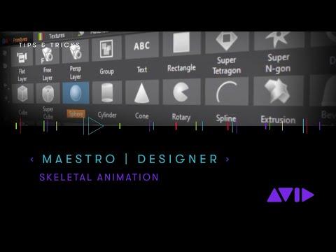 Maestro   Designer — Skeletal Animations