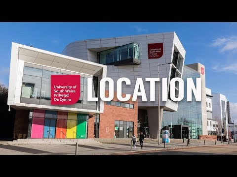 University of South Wales - location