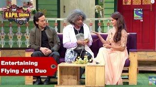 Kapil Sharma & Dr. Mashoor Entertain Flying Jatt Duo - Jacqueline Fernandez & Tiger Shroff