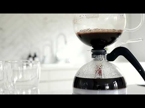 BODUM® How To Use The ePEBO Electric Vacuum Siphon Coffee Maker