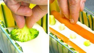 Terrine de vegetais com creme de champignons