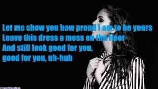 Selena Gomez - Good For You ft. A$AP Rocky (LYRICS)