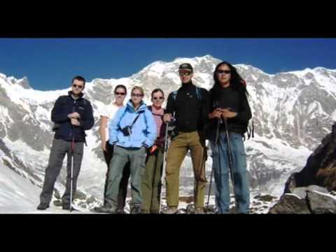 Nepal Kathmandu Annapurna Sanctuary Trek Package Holidays Travel Guide Travel To Care