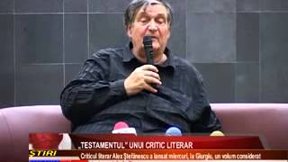 """TESTAMENTUL"" UNUI CRITIC LITERAR"
