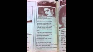 Madonna LDLHA lyric on 1984 HK magazine