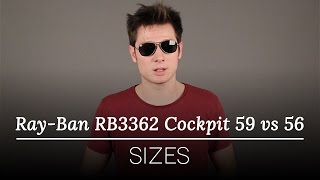 06c15d28ba Ray-Ban RB3362 Cockpit Polarized 004 58 Sunglasses Grey ...