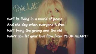"""Caravan of Love""- Pixie Lott full lyrics, FULL HD"