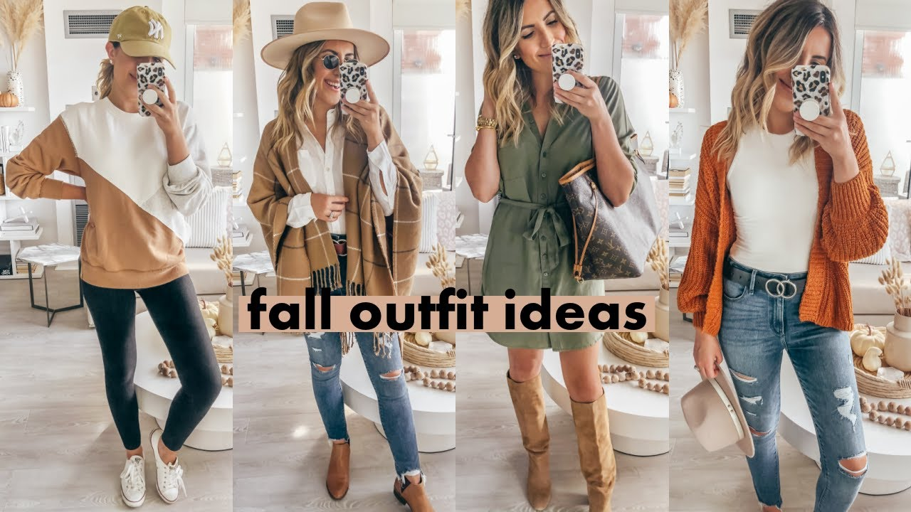 FALL OUTFIT IDEAS | A&F Try On Haul | Steph Sterjovski Jolly