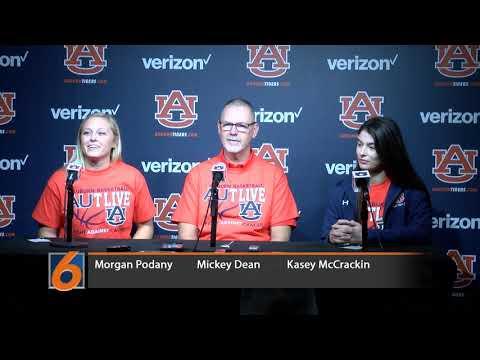 Auburn Softball Press Conference