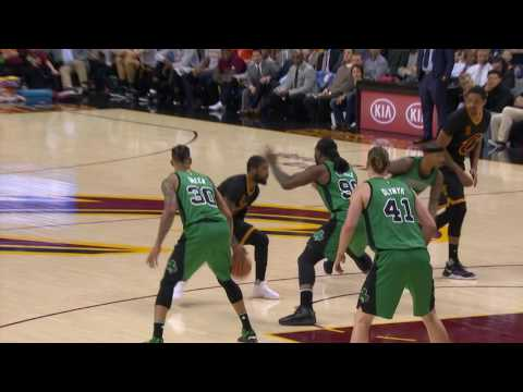 Kyrie Irving Shows Off His Handles and Finishes at the Rim | 12.29.16