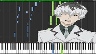 Tokyo Ghoul RE - Asphyxia (Piano Tutorial) [Synthesia]